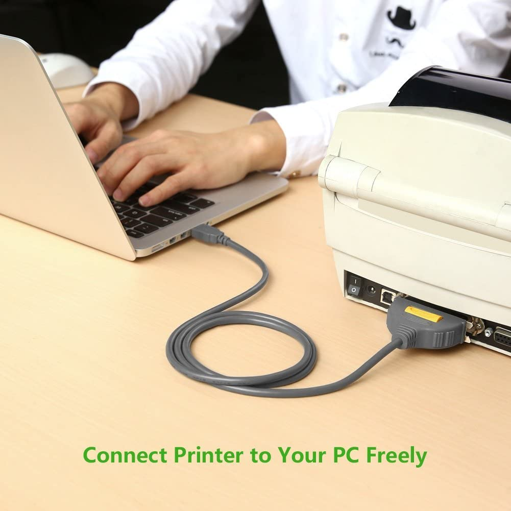 UGREEN Adaptador USB a Paralelo IEEE-1284 CN36 para Impresora ...