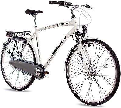 CHRISSON Sereto 3.0 - Bicicleta de Ciudad para Hombre (28