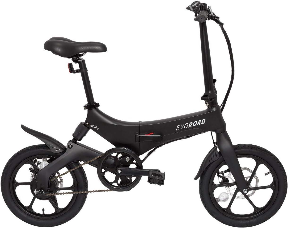 eBike EvoRoad - Bicicleta Eléctrica Ruedas 16: Amazon.es: Deportes ...
