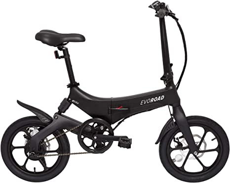 eBike EvoRoad - Bicicleta Eléctrica Ruedas 16: Amazon.es ...