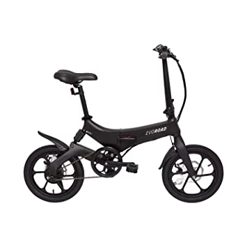 Bicicleta plegable electrica carrefour