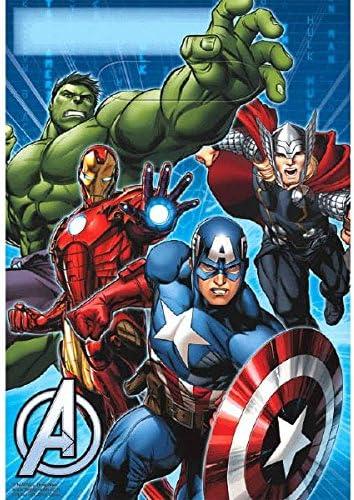Amazon.com: Avengers Kit para decoración de mesa, diseño de ...