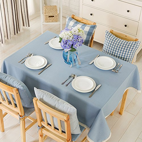 Amazon.com: WFLJL European Style Tablecloth Cotton ...