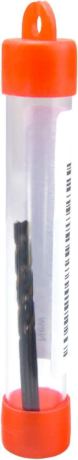 MAXTOOL No 54 Dia 0.055 Wire Gauge 2pcs Jobber Twist Drill Bits HSS M2 Fully Ground; JBN02H10R54P2