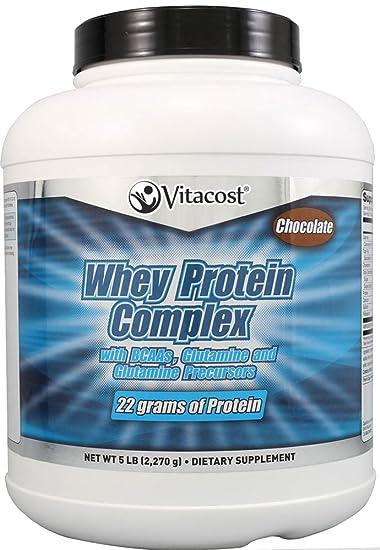 Amazon.com: vitacost Complejo de proteína de suero en polvo ...
