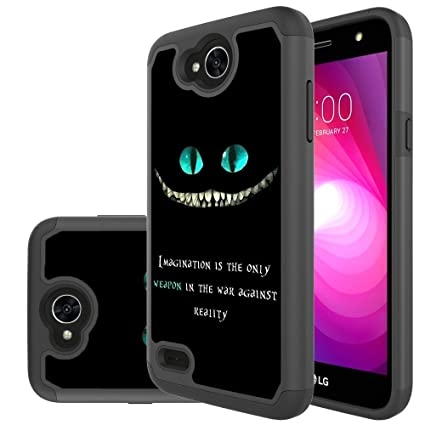 cheap for discount 510f5 54ef0 LG X Charge Case,LG X Power 2 Case,LG Fiesta LTE Case,Yiakeng Shock  Absorbing Dual Layer Protective Fit Armor Phone Case Cover Shell for LG X  power2 ...