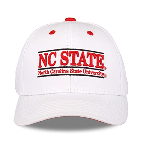 best cheap 11ba6 b78d4 Image Unavailable. Image not available for. Color  NCAA North Carolina  State Wolfpack Unisex NCAA The Game bar Design Hat, White ...