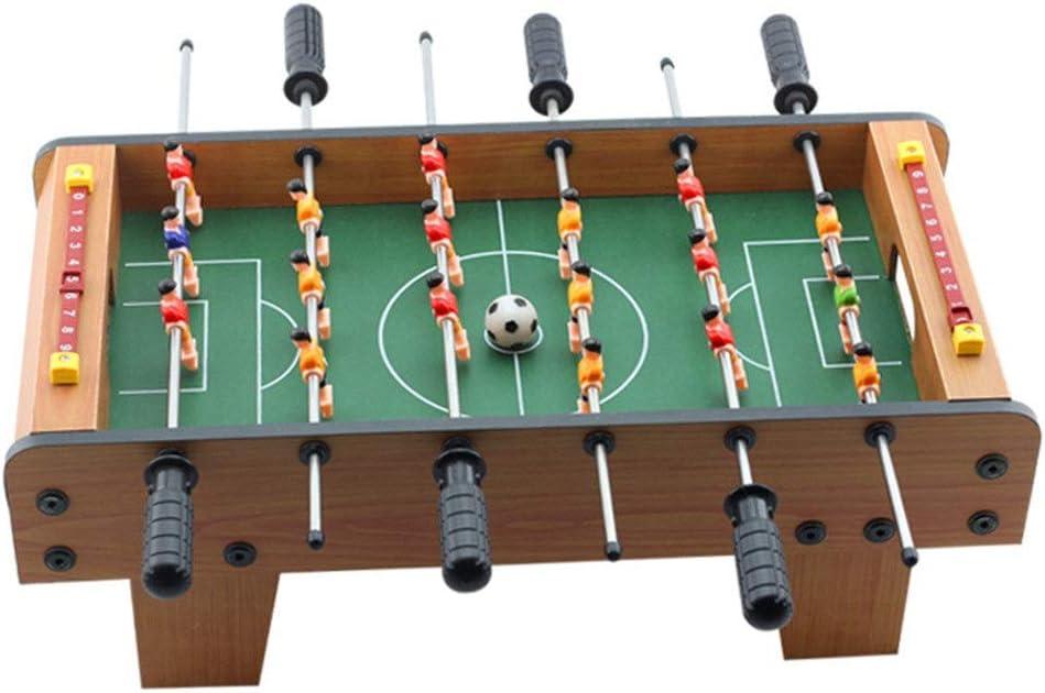 Wujiancheng-apparel Futbolín Adultos y niños Mini Compacto de Mesa Juego de fútbol Mesa de futbolín Juegos de competición Juegos Deportivos para los Adultos, niños - Fútbol Mano recreativa para Ga: Amazon.es: Hogar