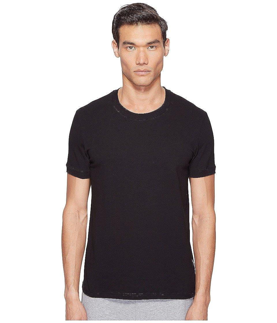 T-shirt Dolce & Gabbana Puro Cotone Girocollo Girocollo Uomo, Blu Marino