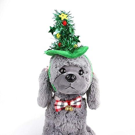 KOBWA - Gorro para Mascotas, para Halloween, Navidad, Diadema con diseño de Gatos