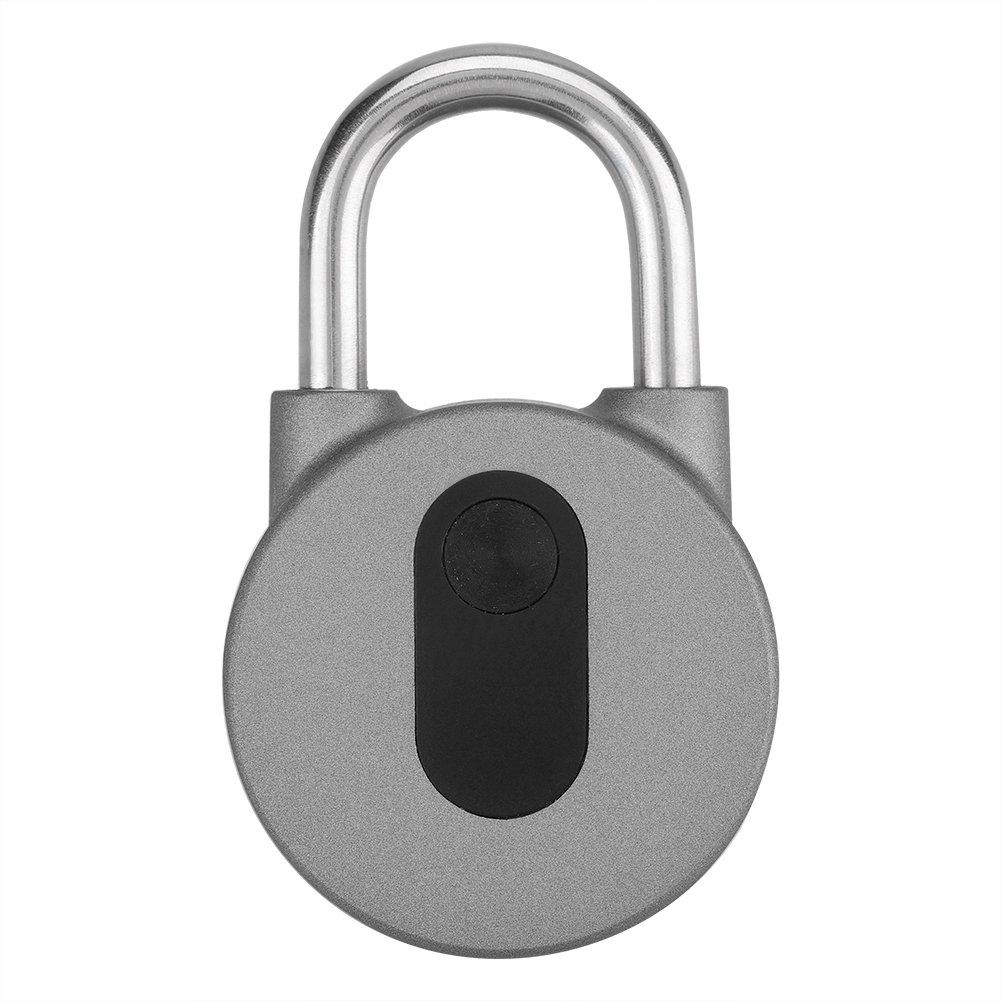 Zerodis Keyless Smart Padlock Wireless Bluetooth Anti-theft Security Lock Waterproof APP Control for Door Bike Motorbike