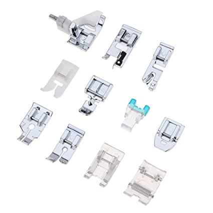 ultimafio (TM) 11 piezas para máquina de coser prensatelas pies para Brother Cantante Janome