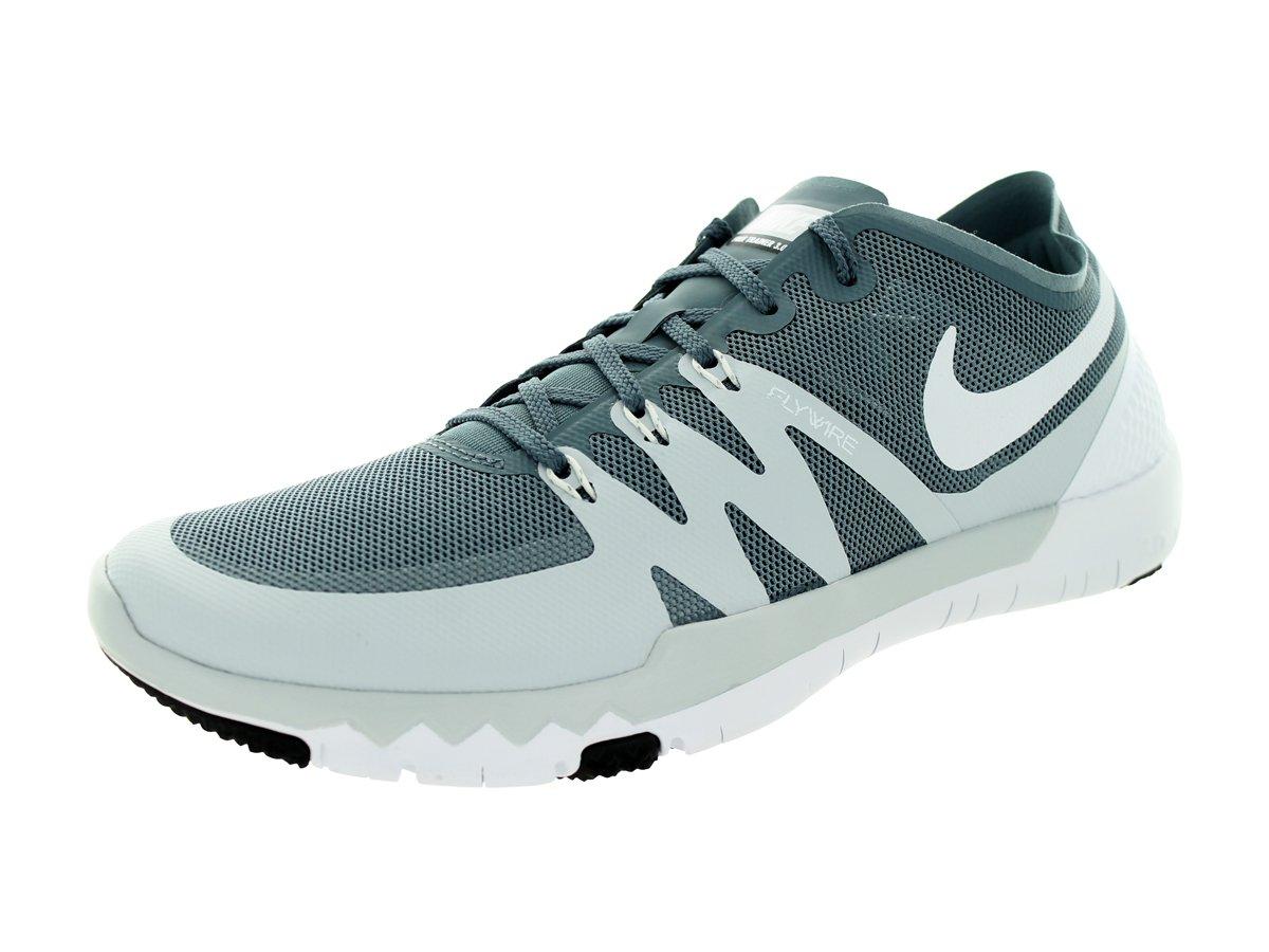 0ad1151b0f67e Amazon.com  Nike Men s Free Trainer 3.0 V3 Blue Graphite White PR Pltnm  Training Shoe 8 Men US  Shoes