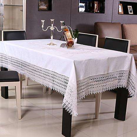 ZB Hueco campos cubiertos de agua soluble bordado encaje tela toalla toalla sofá café tabla ,