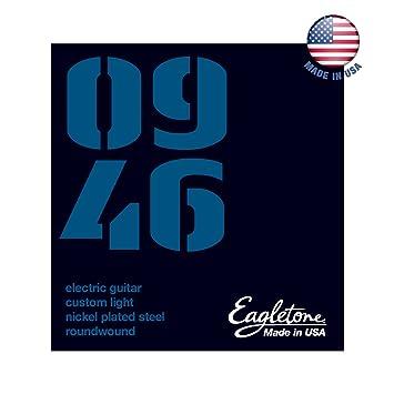 Eagletone de Estados Unidos 0946 Cuerdas para guitarra eléctrica de encargo luz 09-46