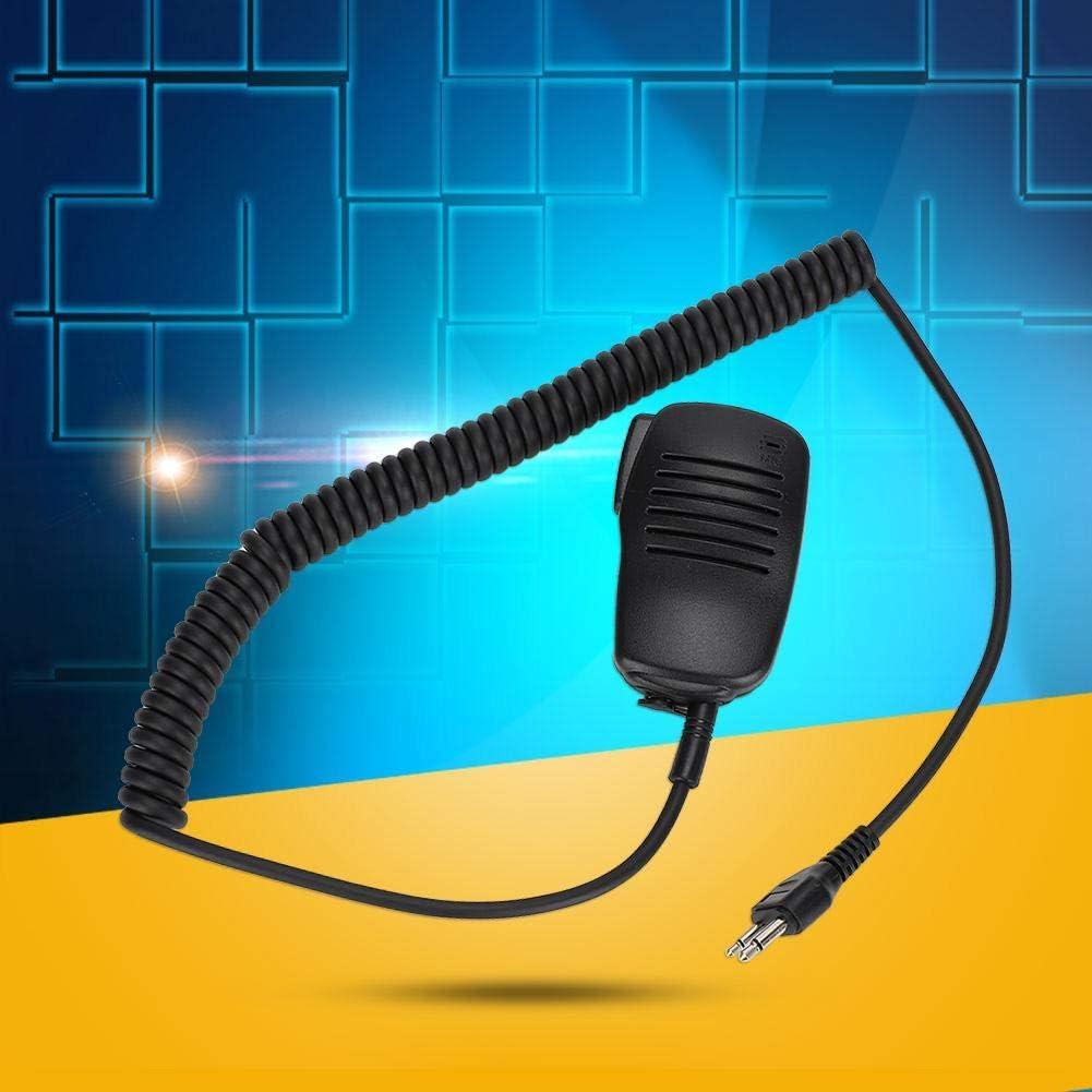 Shoulder Microphone with 360 Degree Rotatable Clip /& 3.5mm EarpieceJack Speaker Mic Walkie Talkie Handheld Speaker Mic for ICOM for Cobra for Maxon for Midland for Vertex for Uniden etc
