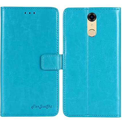 hot sale online aae37 d8161 TienJueShi Blue Book-Style Flip Leather Protector Case Cover Skin Etui  Wallet for BLU Studio View XL S790Q 5.7 inch