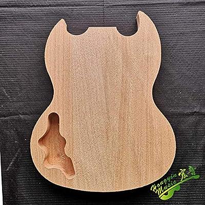 SG Style - Cuerpo de guitarra eléctrica (madera de caoba ...