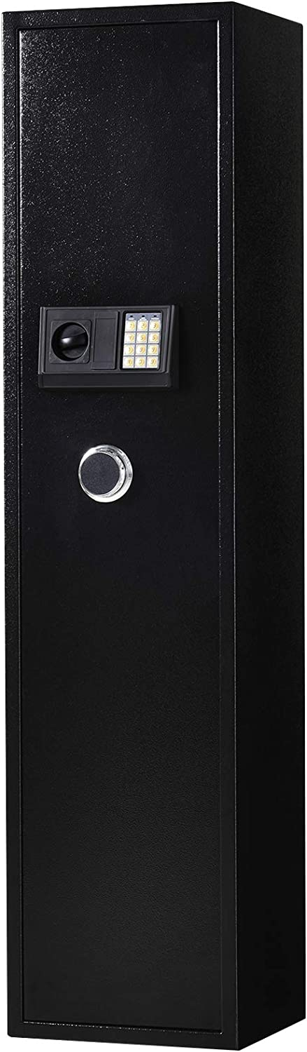 HomCom 56″ Electronic Weapon Security Safe