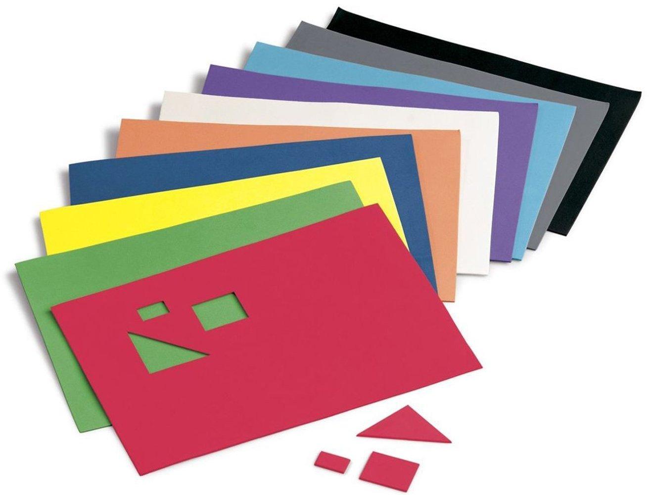 Faibo 218768 Pack De 10 Laminas De Goma Eva 20 X 30 Cm - Fotos-de-goma-eva