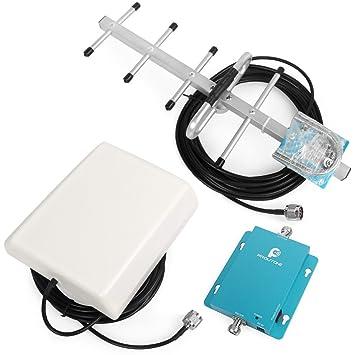 Proutone gsm 900MHz repetidor de la señal del teléfono móvil, Amplificador de señal gsm + yagi Antena con Cable de 10 m: Amazon.es: Electrónica