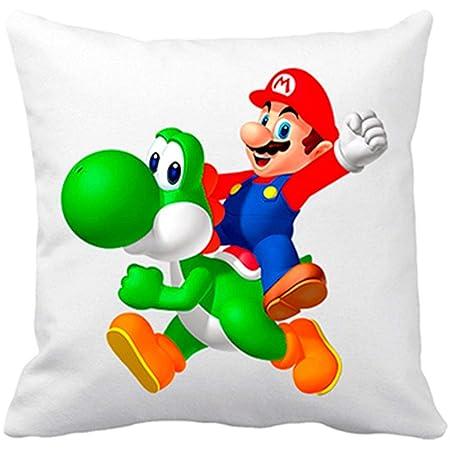 Diver Bebé Cojín con Relleno Super Mario Yoshi y Mario ...