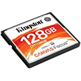 Kingston CF Canvas Focus Compact Flash Memory Card 128GB High Performance for DSLR and Professional Photography Cameras…