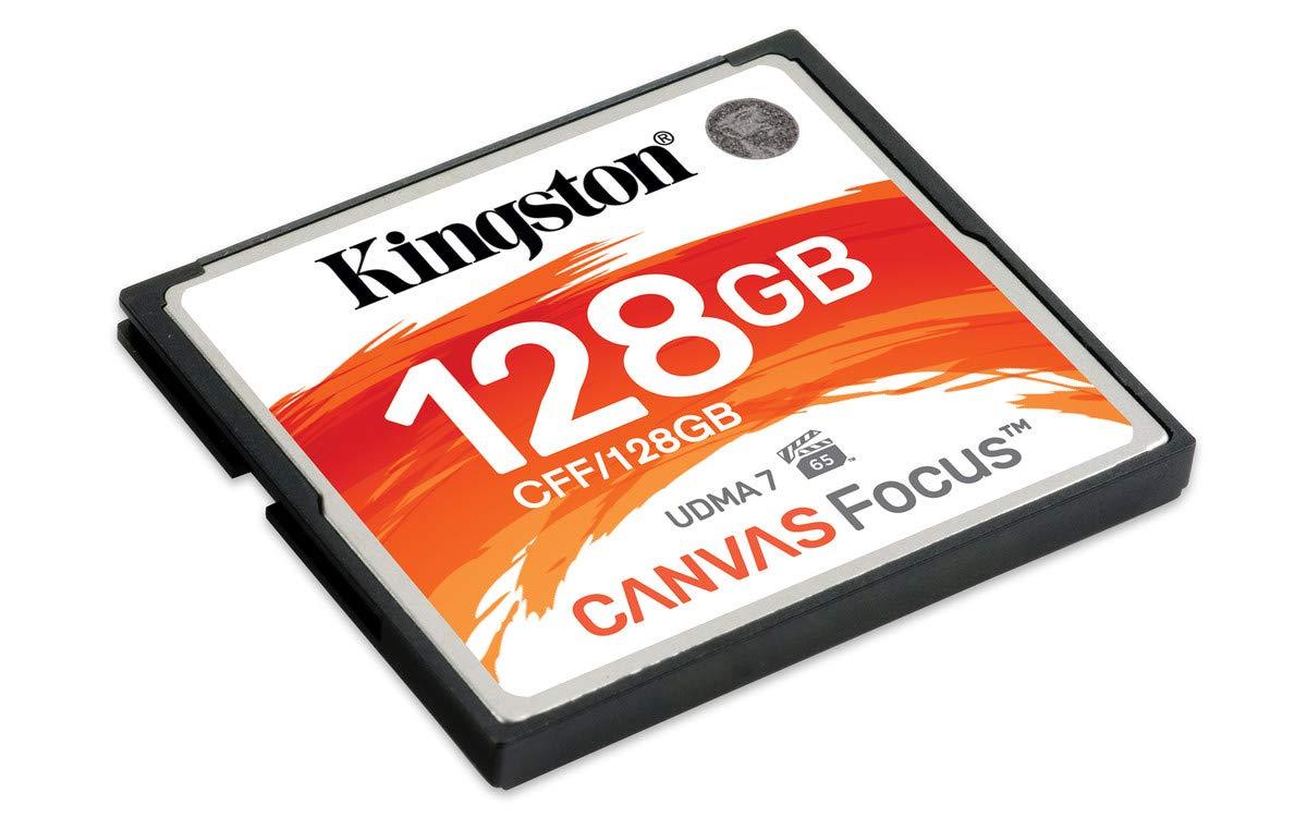 Kingston Canvas Focus Schede CompactFlash 256 GB