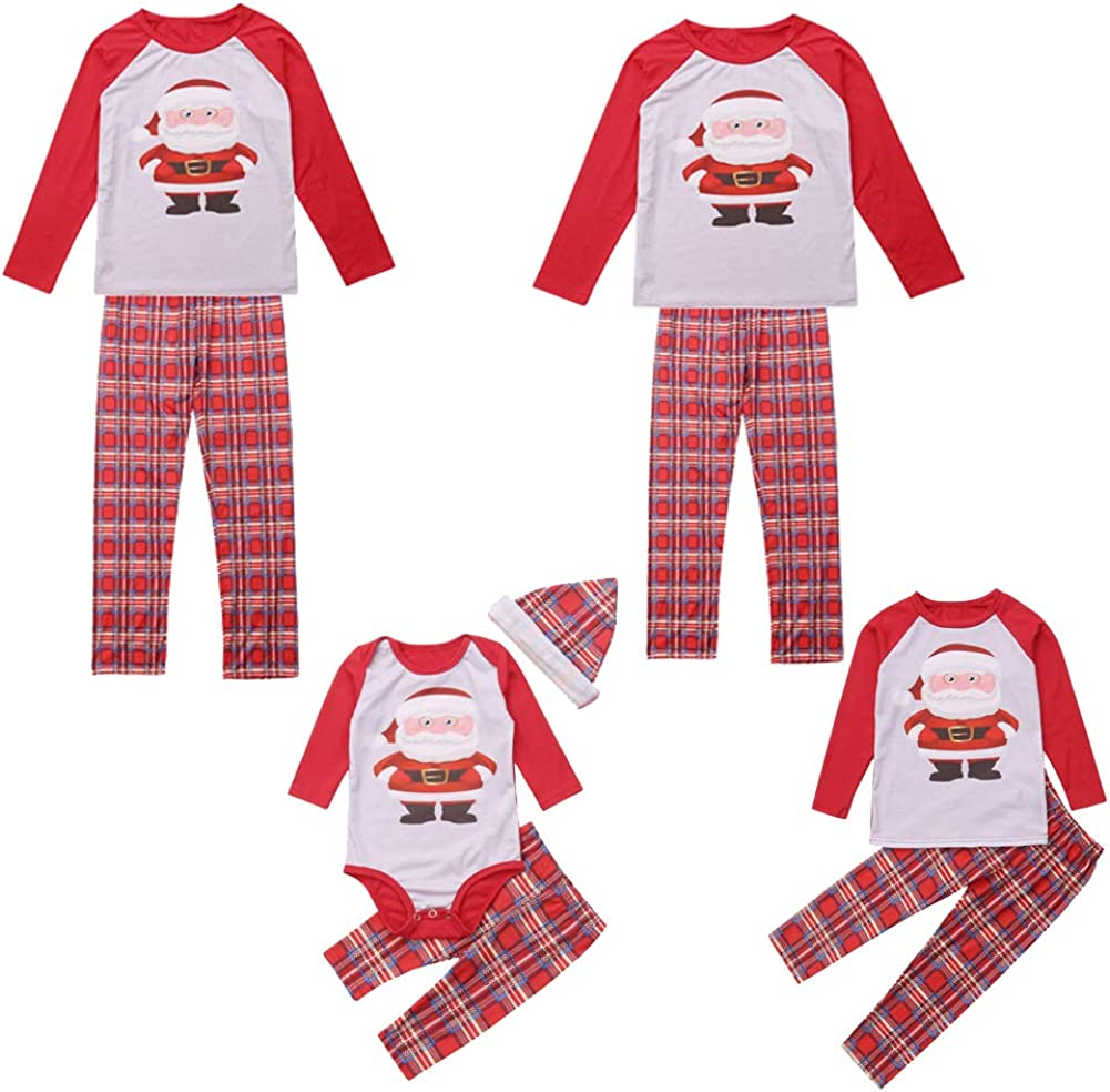 Pijama Familiar a Juego de Papá Noel de algodón para niños - - XXL: Amazon.es: Ropa y accesorios