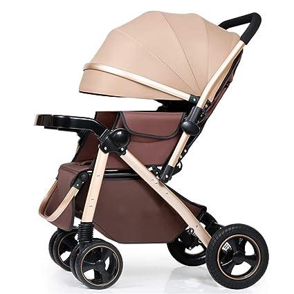 Alto Paisaje Bebé Paseante puede sentarse y acostarse Aluminio ...