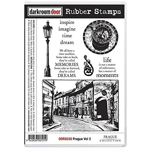 Darkroom Door Rubber Prague Vol 2 Stamp Set