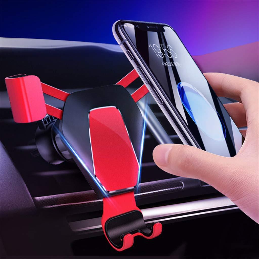 SHENGNONG Soporte Universal de Salida de Aire para Tel/éfono Inteligente para iPhone Samsung Galaxy Otros Tel/éfonos Inteligentes