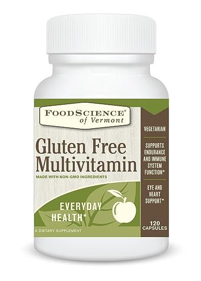 Amazon com: Food Science of Vermont Gluten Free Multivitamin