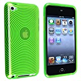 Insten Green Soft Gel Plastic TPU Cover Case for iPod touch 4G