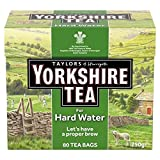 Yorkshire Hardwater Teabags 80 per pack (Pack of 2)