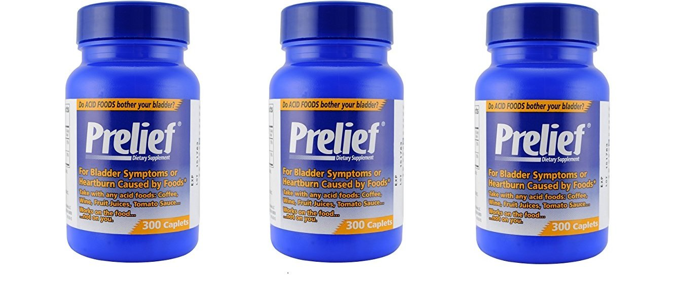 Prelief Acid Reducer, 300 Caplets (3-Pack) by PRELIEF