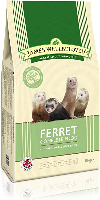 James Wellbeloved Complete Dry Ferret Food 2 Kg Amazon Co Uk Pet Supplies