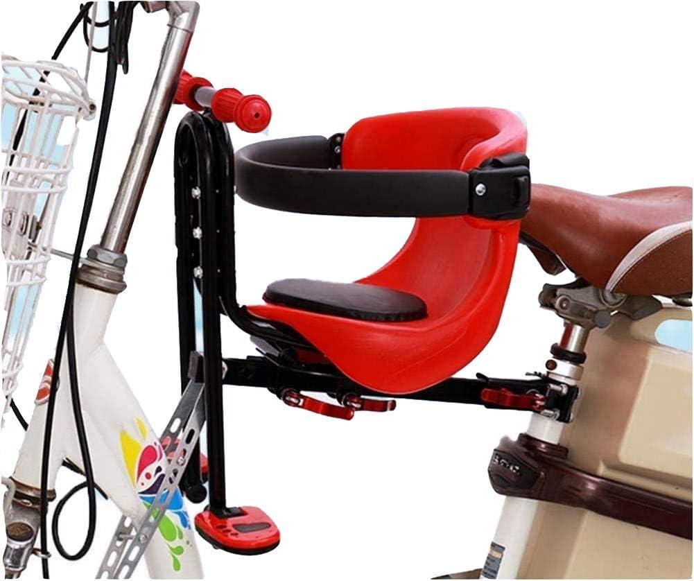 Eton Front Mounted Baby Bike Seat, Universal Kids Bike Seat for Children, Front Mount Bike Child Seats Safety Seat for Bikes Kids Safety Carrier Front Seat
