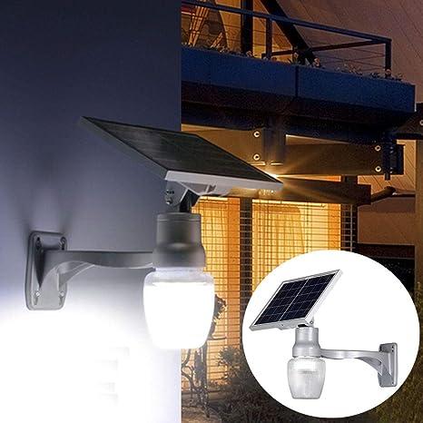 La pared de luz super brillante Proyector LED 6W energía solar de ...