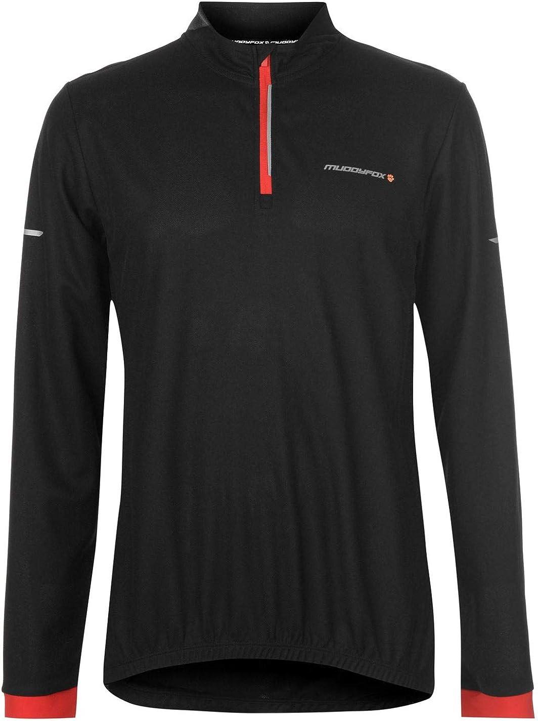 Muddyfox Men/'s Cycling Short-Sleeve Jersey