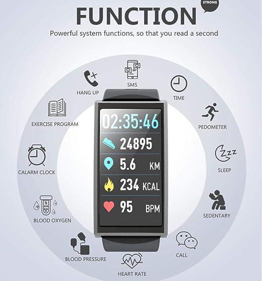 MZNEO Smart Watch Smart Bracelet D5 Smart Wristband Color Screen ...