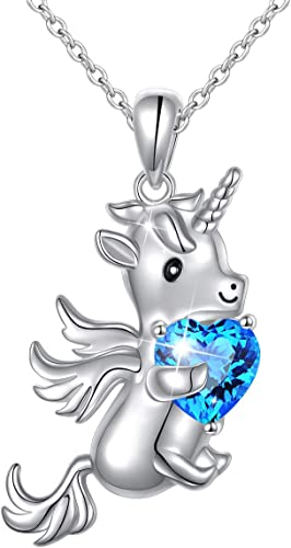 Life Is Magical Unicorn Necklace With Card Gift New Present Jewelry Mothers USA