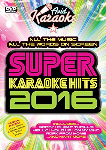 Super Karaoke Hits 2016 [DVD]