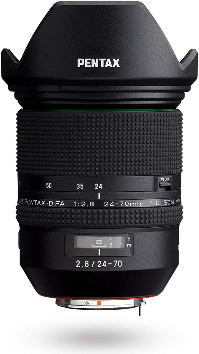 Hd Pentax D Fa 24 70 Mm F2 8ed Sdm Wr Kamera