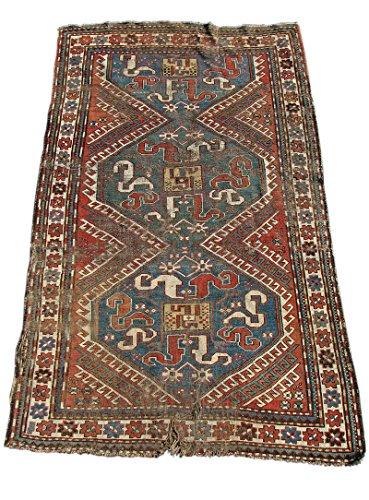 Antique Caucasian Kazak Oriental Rug rr1249