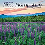 New Hampshire Wild & Scenic 2020 12 x 12 Inch Monthly Square Wall Calendar, USA United States of America Northeast State Nature