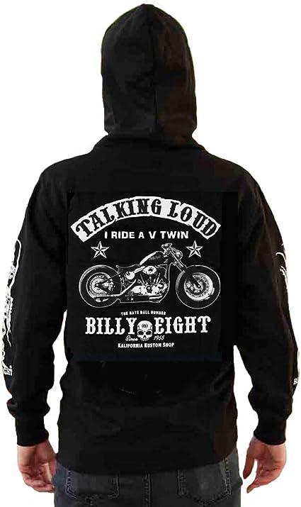 Kustom Kalifornia Sweat capuche Billy Eight fermeture zip * *