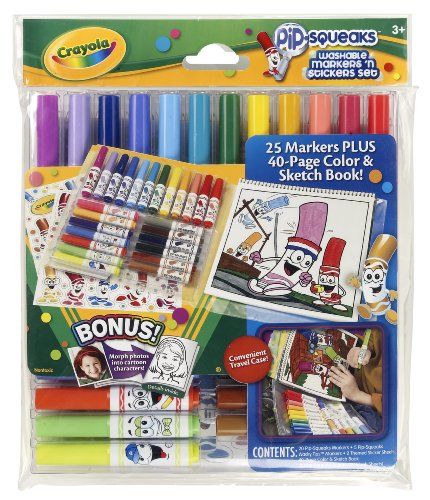 Crayola Pipsqueaks Washable Markers Sticker product image