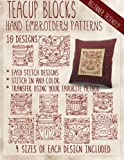 img - for Teacup Blocks Hand Embroidery Patterns book / textbook / text book