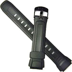 Casio 18mm Black Resin